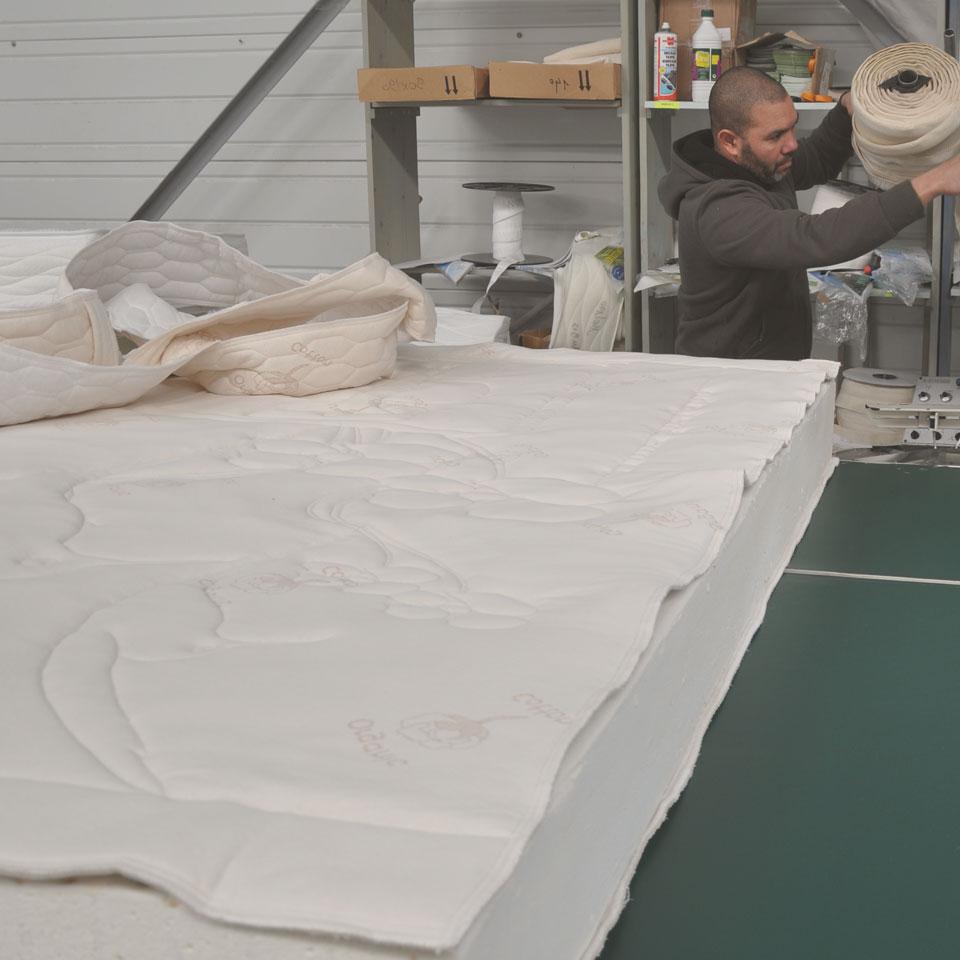 Comment est fabriqué un matelas latex naturel ?