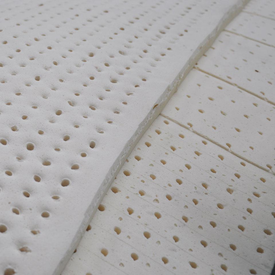 Fabrication du latex naturel