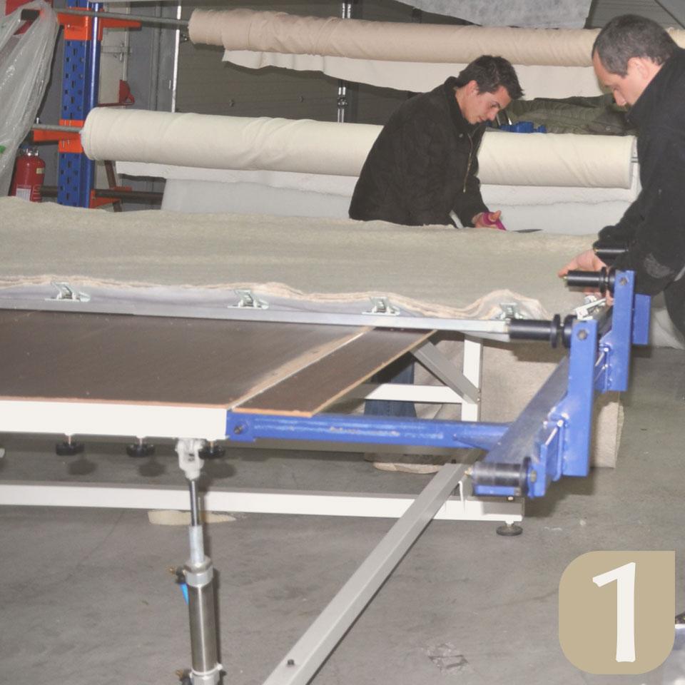 fabrication matelas latex naturel