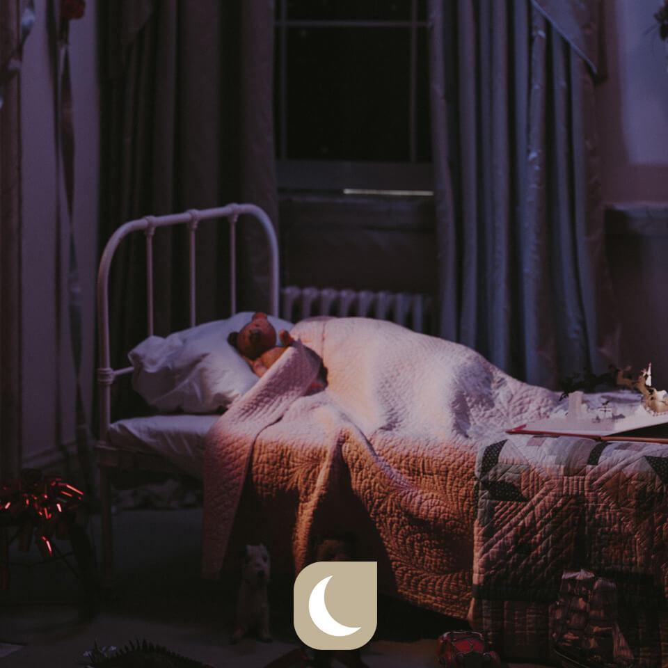 S'endormir peut faire peur à l'enfant